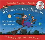 Room on the Broom Book and Interactive CD - Donaldson, Julia