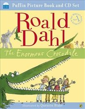 Enormous Crocodile book and cd - Dahl, Roald