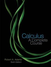 Calculus 6E : A Complete Course - Adams, Robert A.
