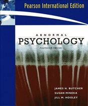 Abnormal Psychology 14e PIE - Butcher, James N.