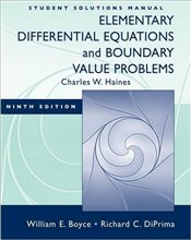 Student Solutions Manual to accompany Boyce Elementary Differential Equations and Boundary Value Pro - Boyce, William E.