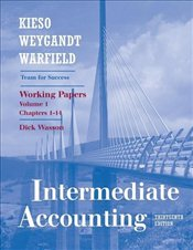 Intermediate Accounting (V1, Chapters 1-14): Working Papers 13e - Kieso, Donald E.