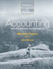 Accounting V6: Working Papers 3e - Kimmel, Paul D.