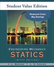 Engineering Mechanics: Statics 6e Update - Meriam, J. L.