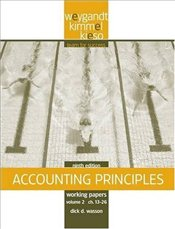 Working Papers, V 2 Chs. 13-26 to Accompany Accounting Principles 9e - Weygandt, Jerry J.