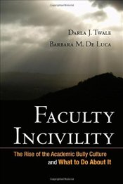 Faculty Incivility : The Rise of the Academic Bully Culture and What to Do About it - Twale, Darla J.