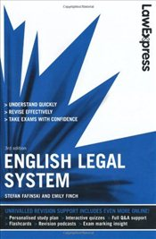 Law Express : English Legal System - Finch, Emily