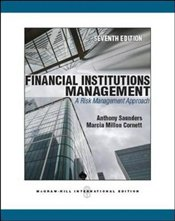 Financial Institutions Management 7e ISE : A Risk Management Approach - Saunders, Anthony