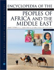 Encyclopedia of the Peoples of Africa and the Middle East 2V Set - Stokes, Jamie