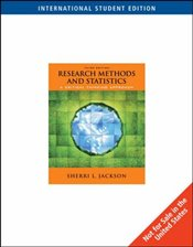 Research Methods and Statistics : A Critical Thinking Approach 3e ISE - Jackson, Sherri