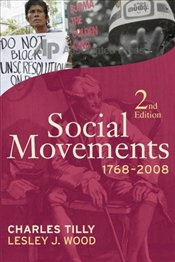 Social Movements, 1768-2008 2e - Tilly, Charles