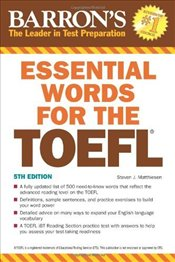 Essential Words for the TOEFL 5e - Matthiesen, Steven