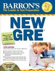 Barrons New GRE 19e with CD - Weiner-Green, Sharon