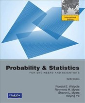 Probability and Statistics for Engineers and Scientists 9e PIE - Walpole, Ronald E.