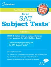 Official Study Guide for All SAT Subject Tests  -