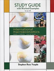 Study Guide for International Macroeconomics - Taylor, Alan M.