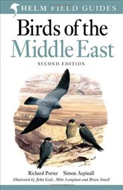 Birds of the Middle East 2e - Porter, Richard