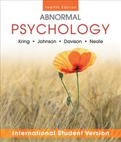 Abnormal Psychology 12e WIE - Kring, Ann M.