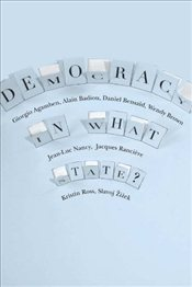 Democracy in What State? - Agamben, Giorgio