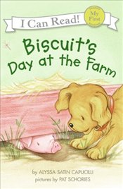 Biscuits Day at the Farm  - Capucilli, Alyssa Satin