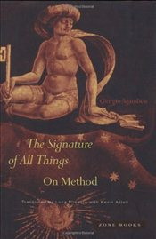Signature of All Things - Agamben, Giorgio