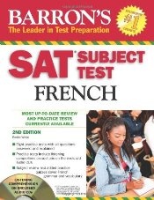 Sat Subject Test French With CD - White, Renee