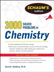 3,000 Solved Problems In Chemistry - Goldberg, David E.