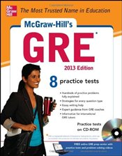 McGraw-Hills GRE with CD-ROM, 2013 Edition  - Dulan, Steven