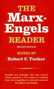Marx - Engels Reader 2e - Tucker, Robert C.