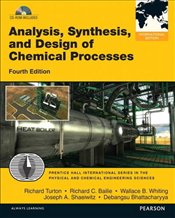 Analysis, Synthesis and Design of Chemical Processes 4e PIE - Turton, Richard