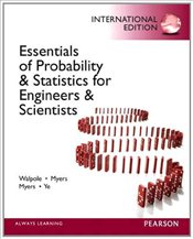 Essentials of Probability & Statistics for Engineers & Scientists PIE - Walpole, Ronald E.