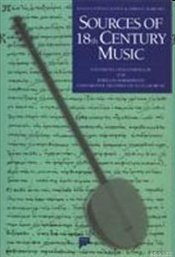 Sources of 18th Century Music - Popescu-Judetz, Eugenia