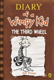 Diary of a Wimpy Kid 7 : Third Wheel - Kinney, Jeff