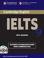 Cambridge IELTS 9 Self-study Pack (SB with answers and Audio CDs(2)) -