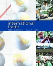 Study Guide for International Trade - Taylor, Alan M.