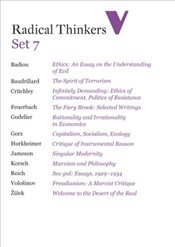 Radical Thinkers Set 7 : Shrinkwrapped Set - Badiou, Alain
