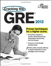 Cracking the GRE 2013 - Princeton Review