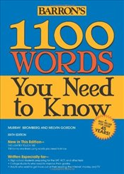 1100 Words You Need to Know 6e - Bromberg, Murray