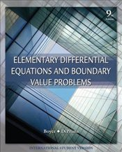 Elementary Differential Equations and Boundary Value Problems 9e ISV + WileyPlus Regcode - Boyce, William E.