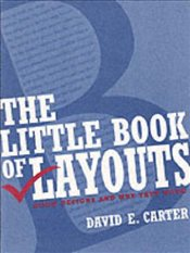 Little Book of Layouts - Carter, David E.