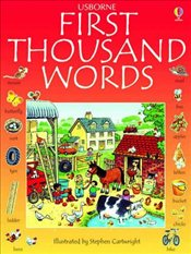 First Thousand Words in English  - Amery, Heather