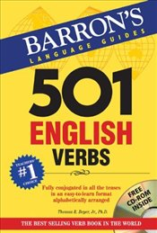 501 English Verbs 3e w/CD - Bromberg, Murray