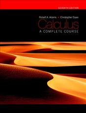 Calculus 7e : Complete Course with Plus MyMathLab - Adams, Robert A.