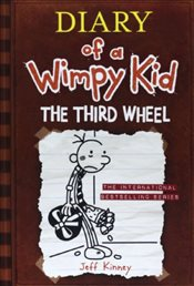 Diary of a Wimpy Kid 7 : The Third Wheel - Kinney, Jeff