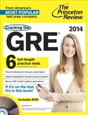 Cracking the GRE with DVD, 2014 Edition  - Princeton Review