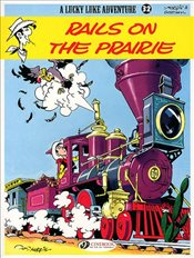 Lucky Luke Vol. 32 : Rails on the Prairie - Goscinny, Rene