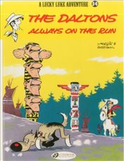 Lucky Luke Vol. 34 : The Daltons Always on the Run - Goscinny, Rene