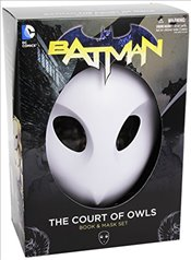 Batman: The Court of Owls Mask and Book Set - Snyder, Scott