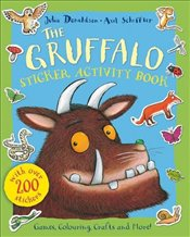 Gruffalo Sticker Activity Book - Donaldson, Julia