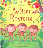 Action Rhymes (Tabbed Board Book) - Brooks, Felicity